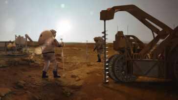 Les Colons De Mars Pourraient Obtenir Du Carburant Et De