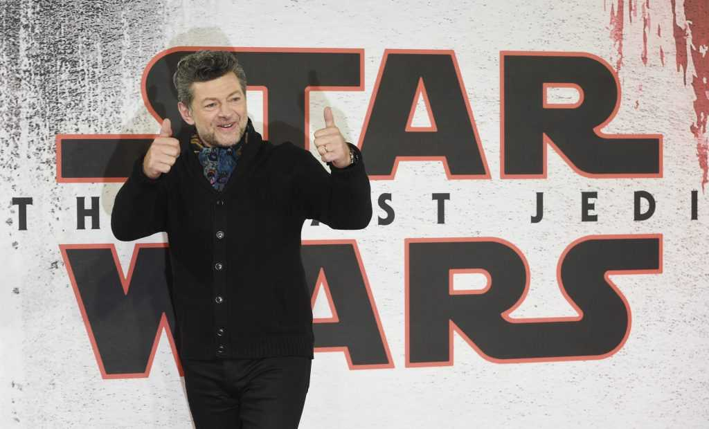 Andy Serkis poses during the