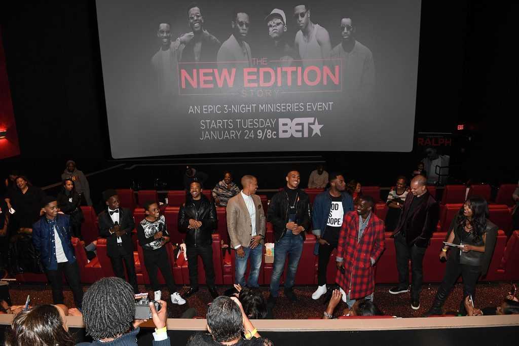 The New Edition Story BET AMC Screenings Tour, Atlanta