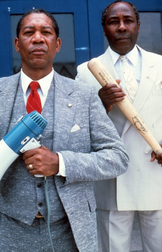 Morgan Freeman and Joe Clark
