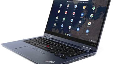 L'inscription sans contact est désormais disponible sur les appareils Lenovo Chrome OS