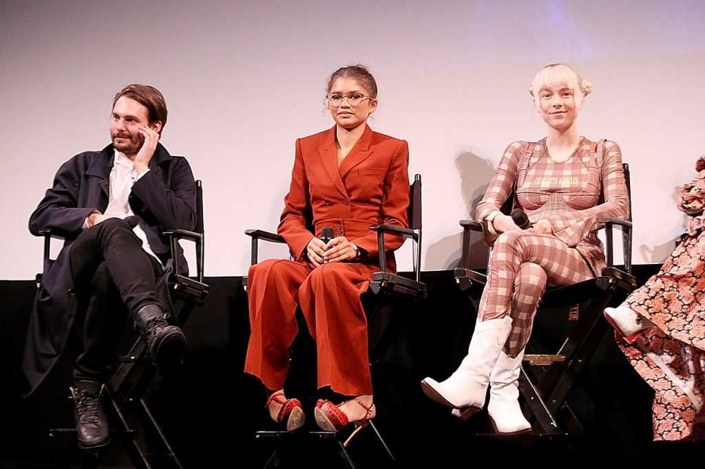 Euphoria creator Sam Levinson, Zendaya, and Hunter Schafer