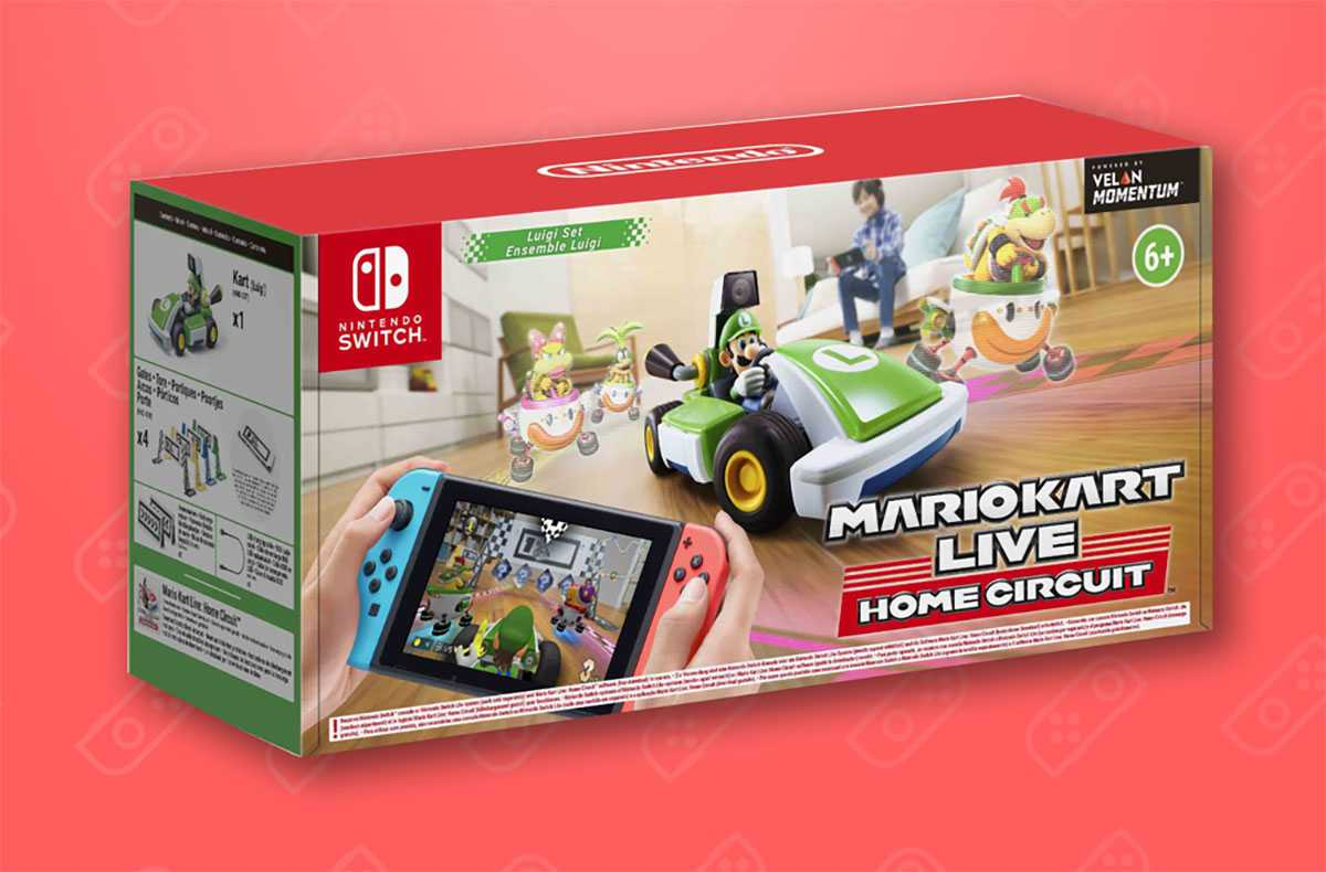 Mario Kart Live Home Circuit Luigi Est Disponible Et Livré (amazon)