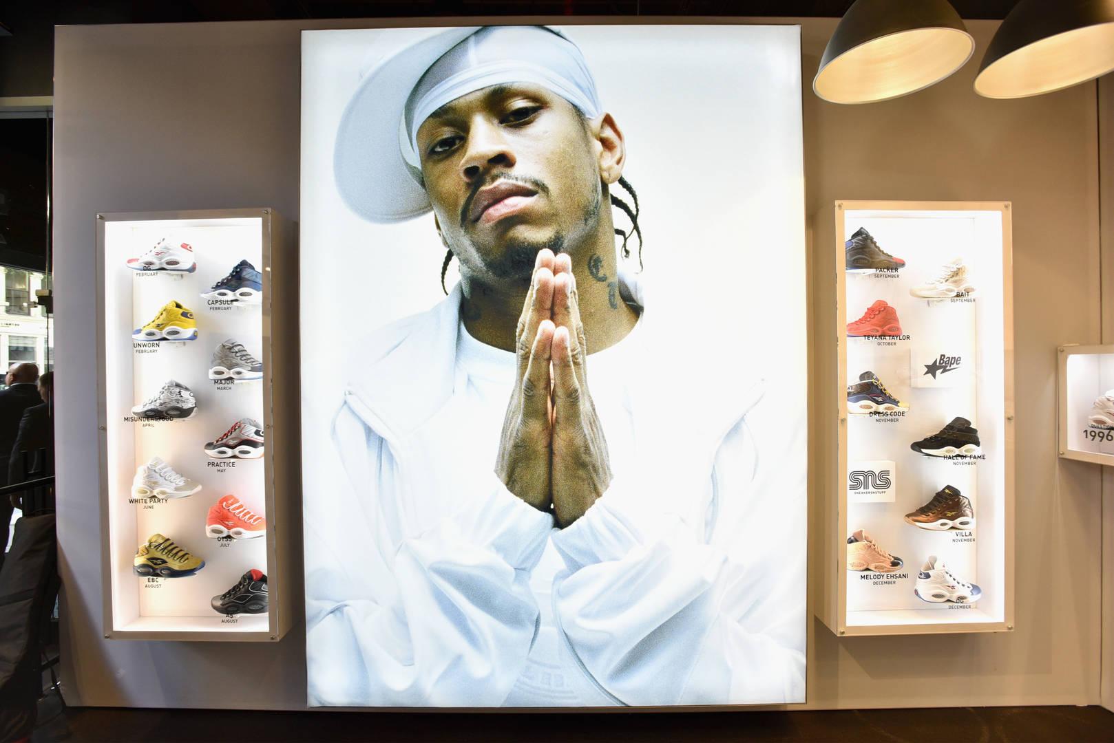 Adidas, Allen Iverson, Reebok