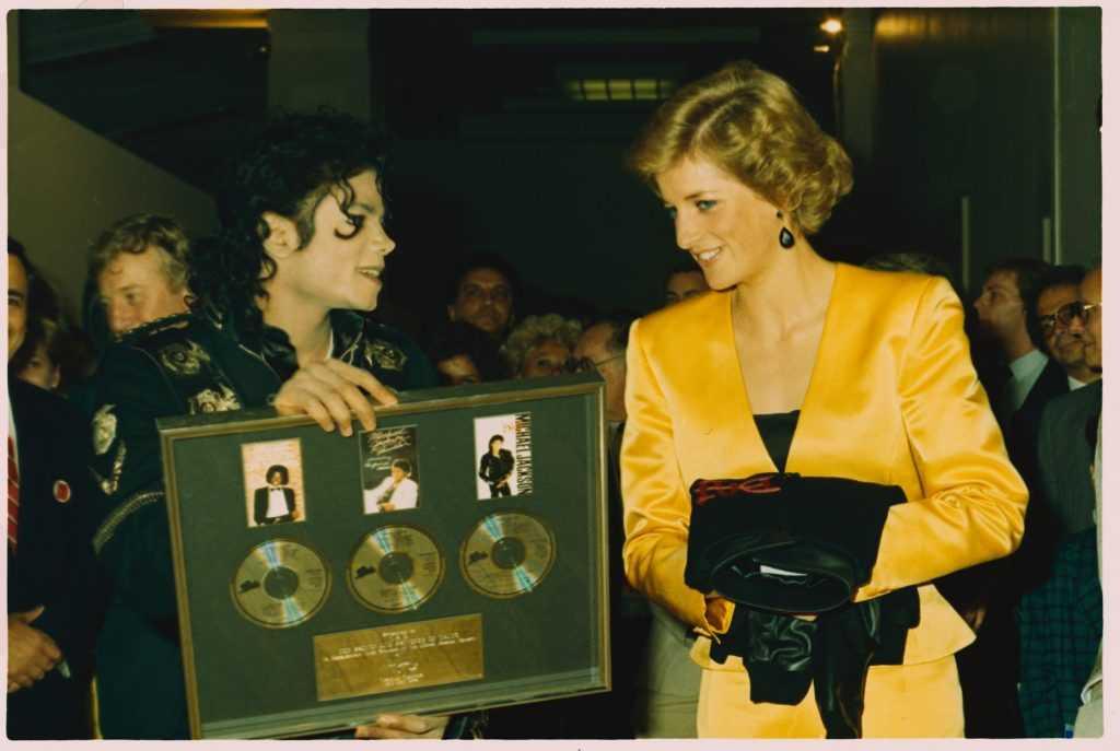 Michael Jackson et la princesse Diana