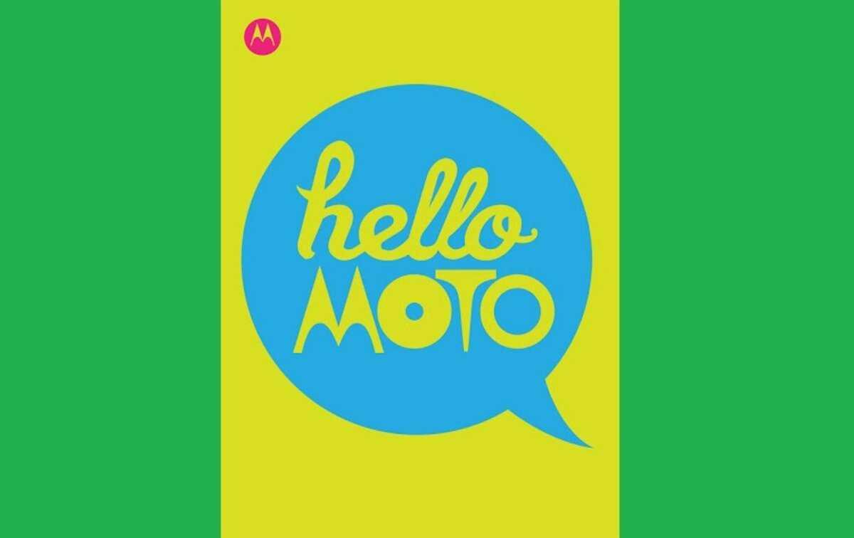 Motorola salue à nouveau avec son populaire `` Hello Moto ''