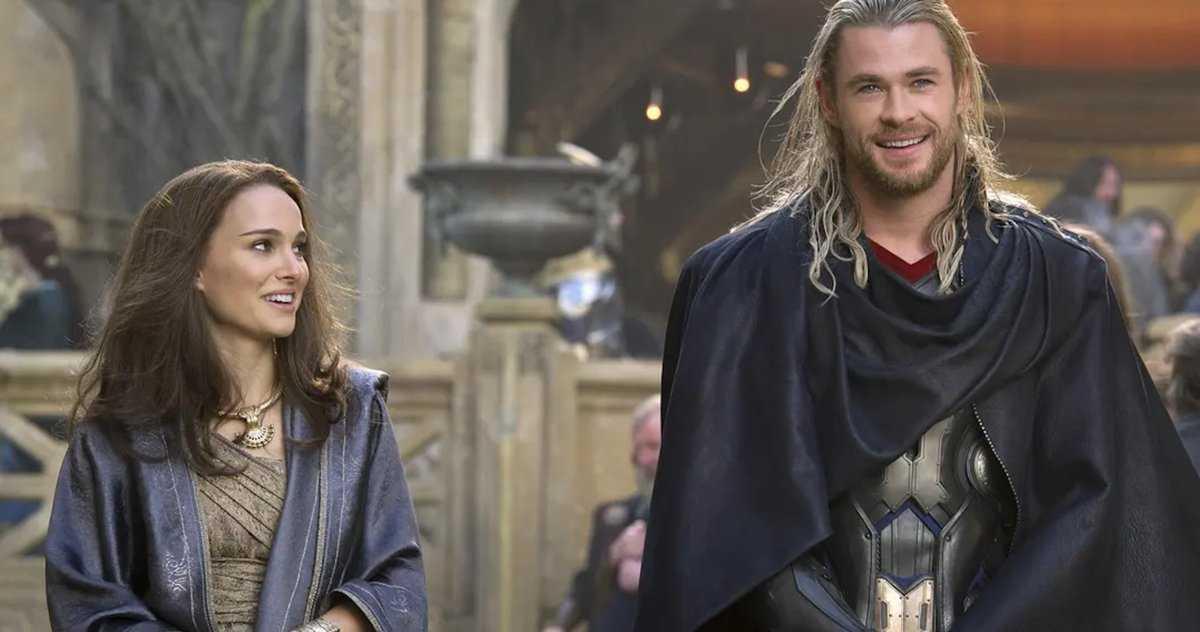 Natalie Portman Craint Que Le Puissant Thor Ne Ressemble à
