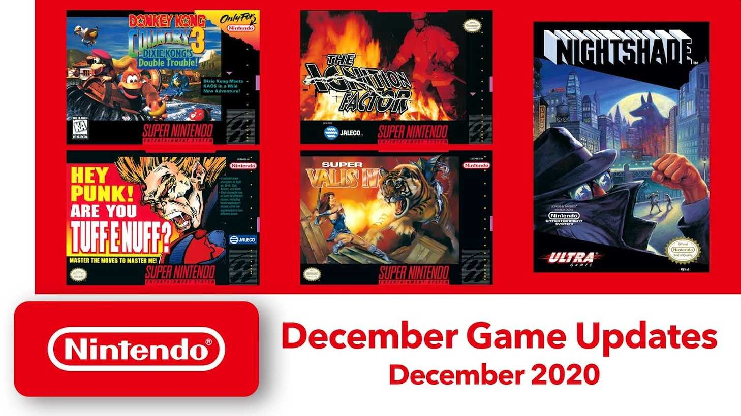 Nintendo Announces New SNES And NES Games Coming To Switch Online This Week