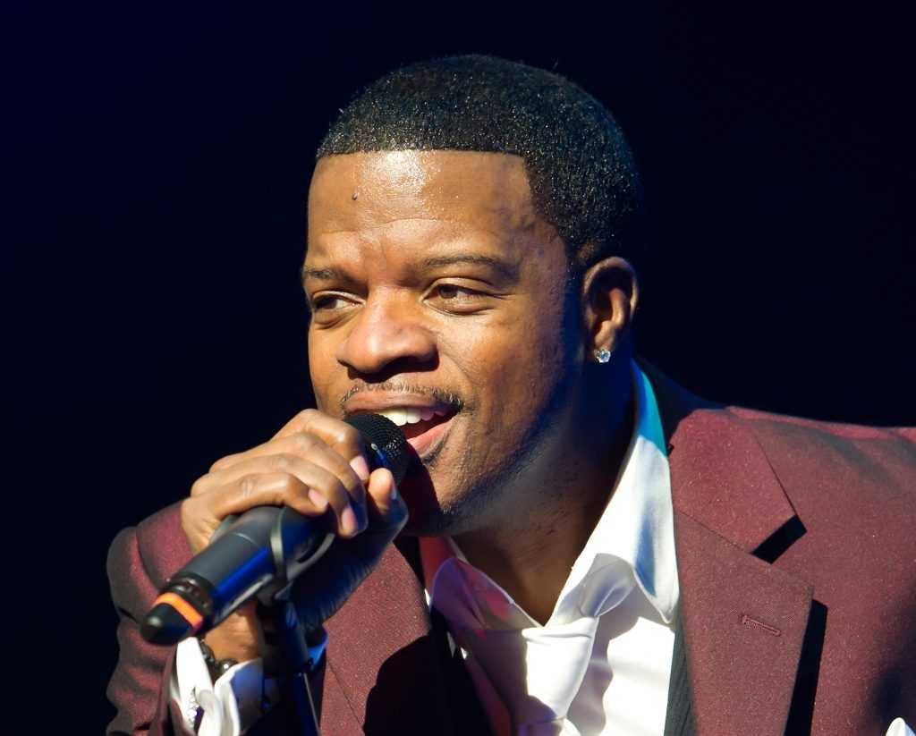 Ricky Bell of New Edition and Bell Biv DeVoe