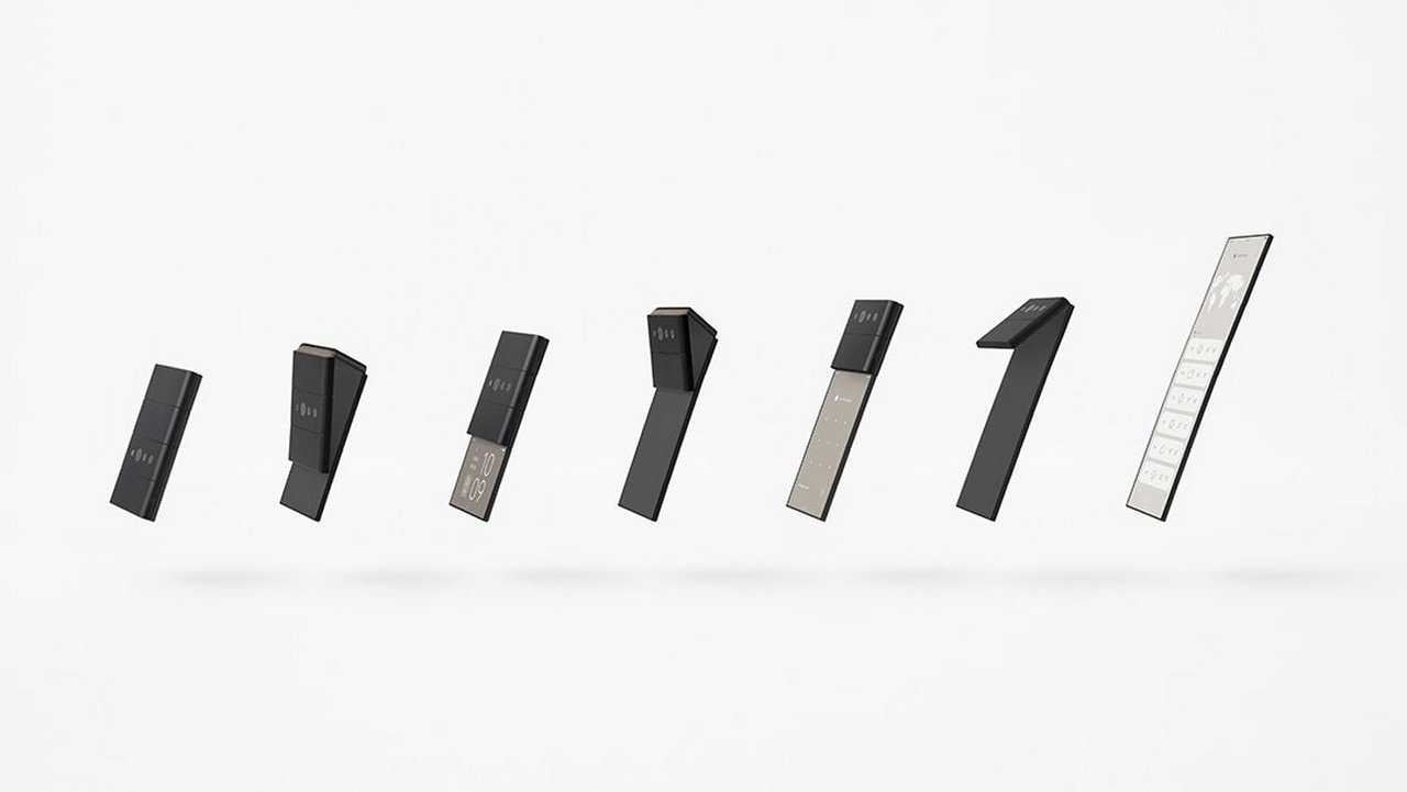 Oppo taquine un nouveau concept de téléphone avec trois charnières appelé Slide-Phone