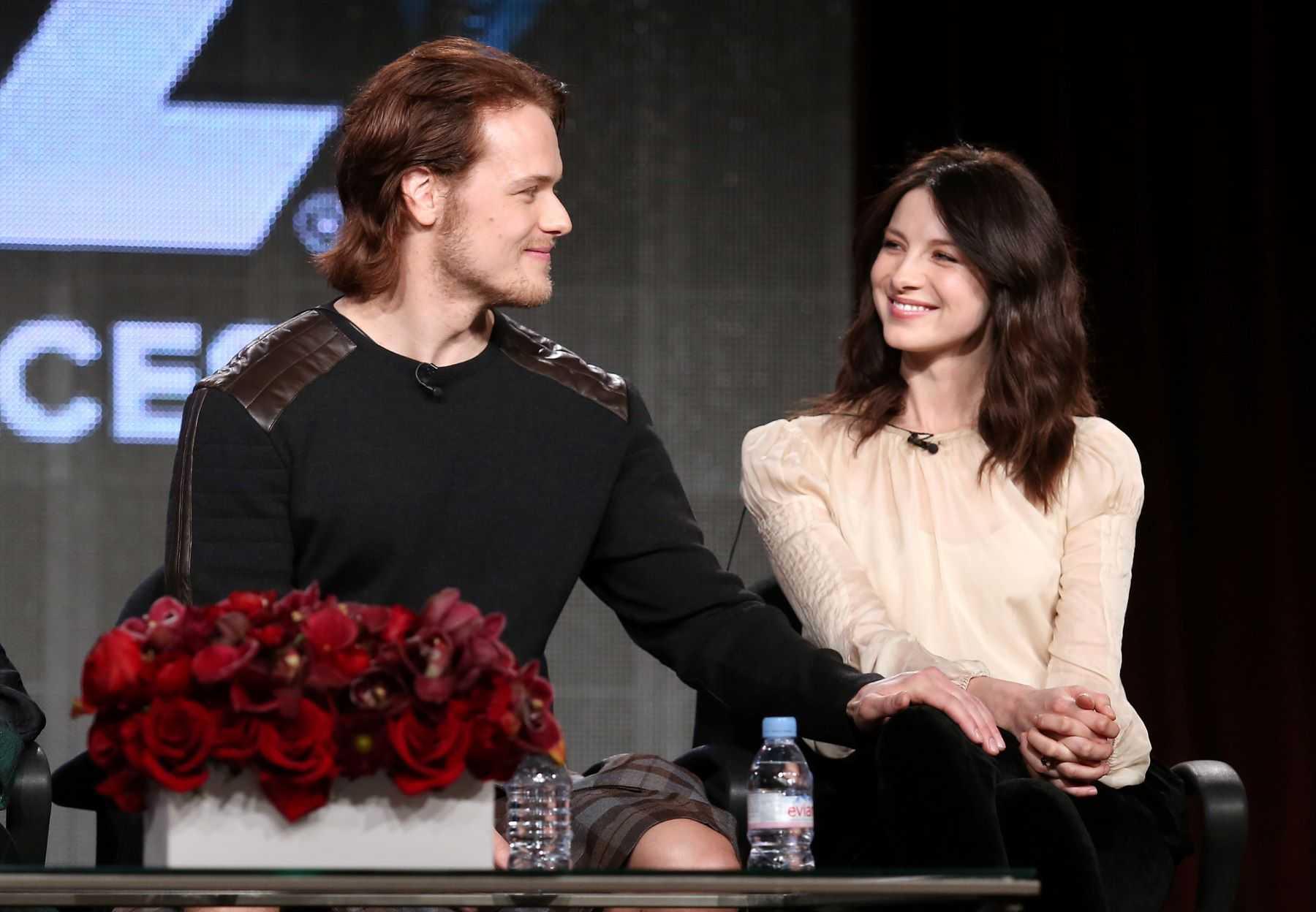 'Outlander' stars Sam Heughan et Caitriona Balfe