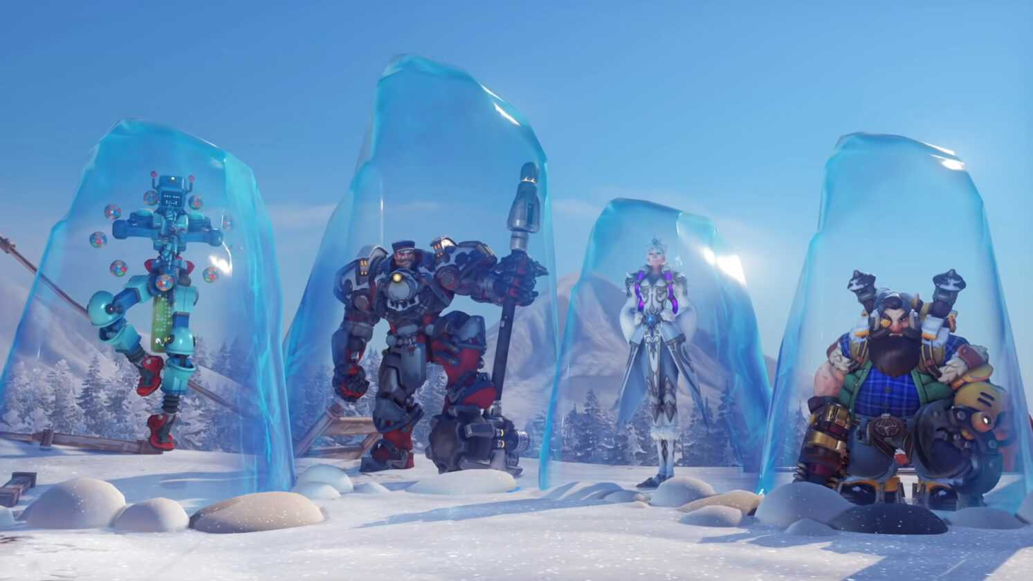 Overwatch: Winter Wonderland Event Is Live – All New Skins Revealed And Event Details