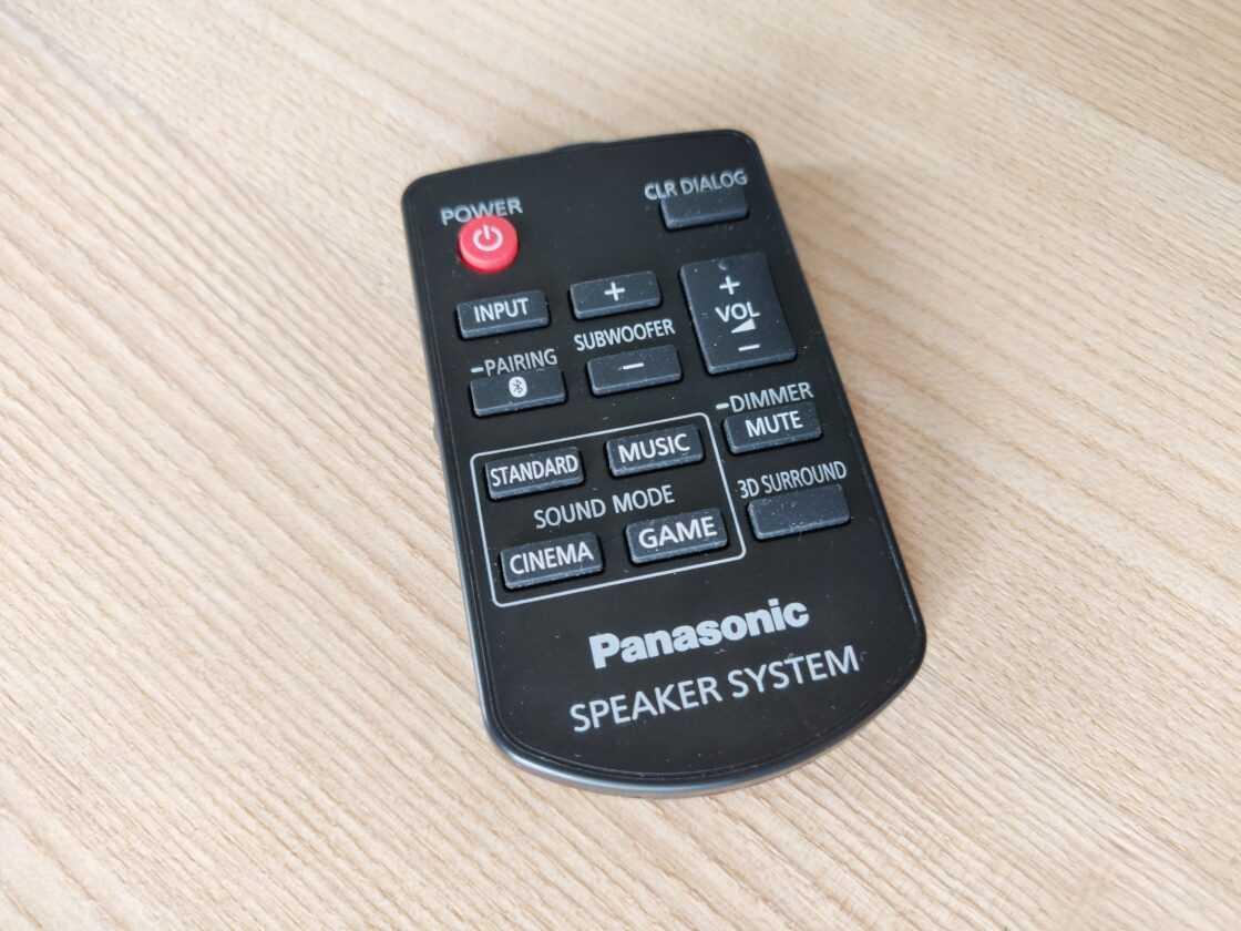 Panasonic Soundslayer Gaming Speaker Barre De Son (sc Htb01)
