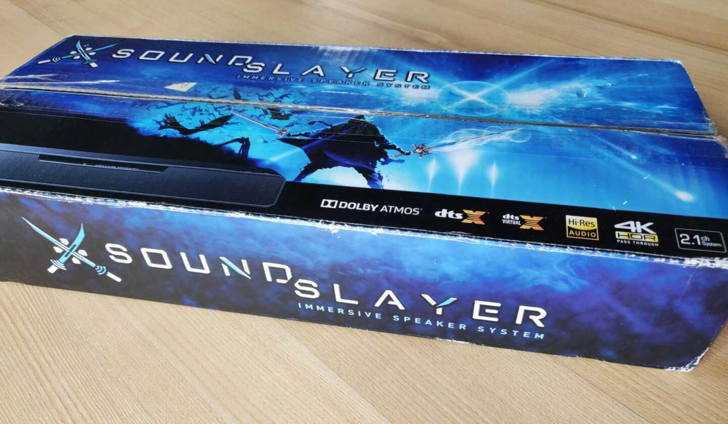 Panasonic Soundslayer Gaming Speaker Barre De Son (sc Htb01) 01