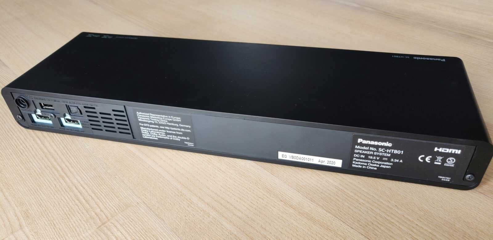 Panasonic Soundslayer Gaming Speaker Barre De Son (sc Htb01) 01 01
