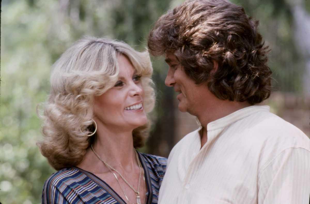 Marjorie Lynn Noe Landon, Michael Landon appearing on the ABC tv special