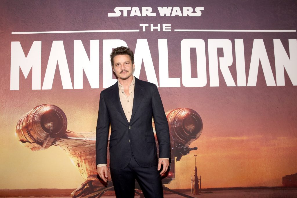 Pedro Pascal arrives at the premiere of