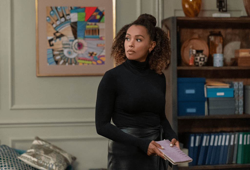 Melanie Liburd as Professor Carrie Milgram in
