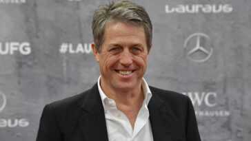 English actor Hugh Grant