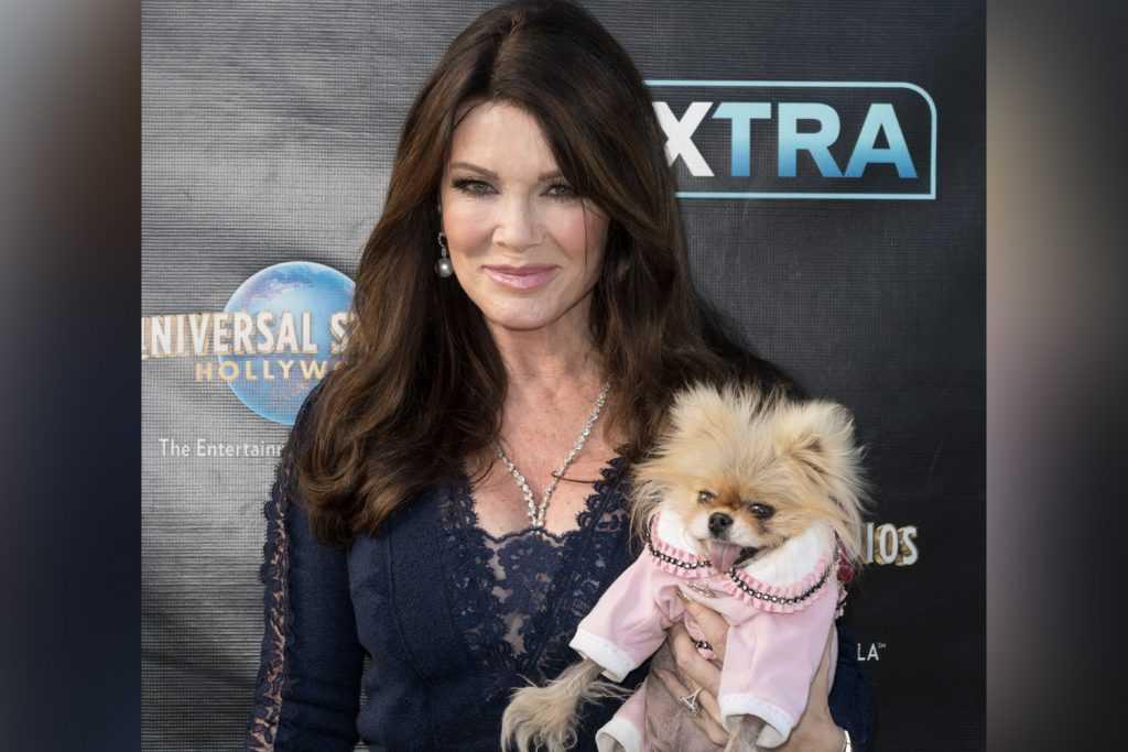 Lisa Vanderpump et son chien Giggy