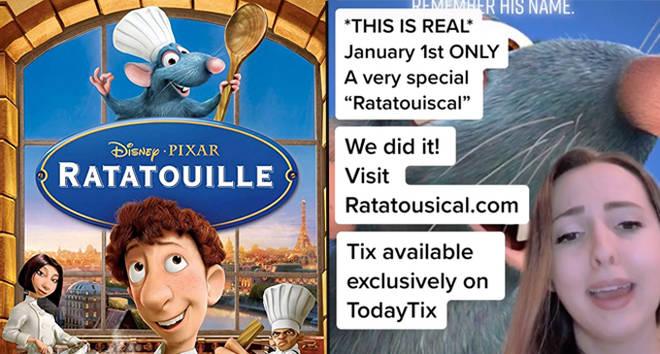 Ratatouille: La comédie musicale TikTok se transforme en production musicale live