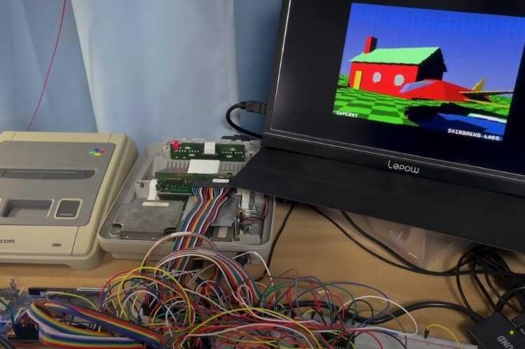 Lancer de rayons sur une Super Nintendo: un hack apporte les dernières technologies graphiques au matériel d'il y a trois décennies