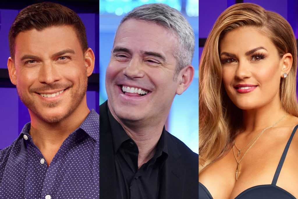 Jax Taylor, Andy Cohen et Brittany Cartwright