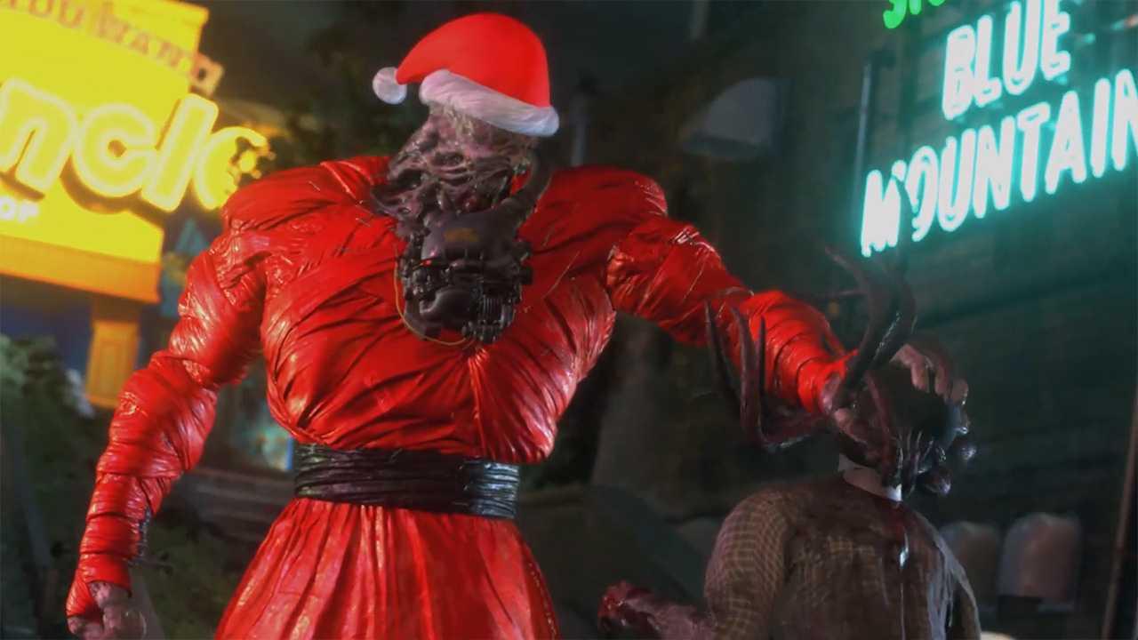 Resident Evil 3 Remake: Joyeux Noël à Raccoon City, Nemesis