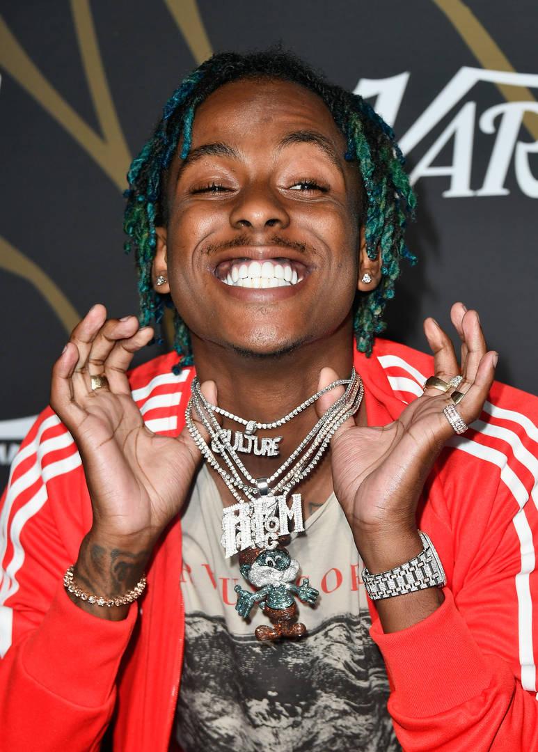 Rich The Kid, chaîne VVS, voleurs, volé, bijoux, chaîne, collier