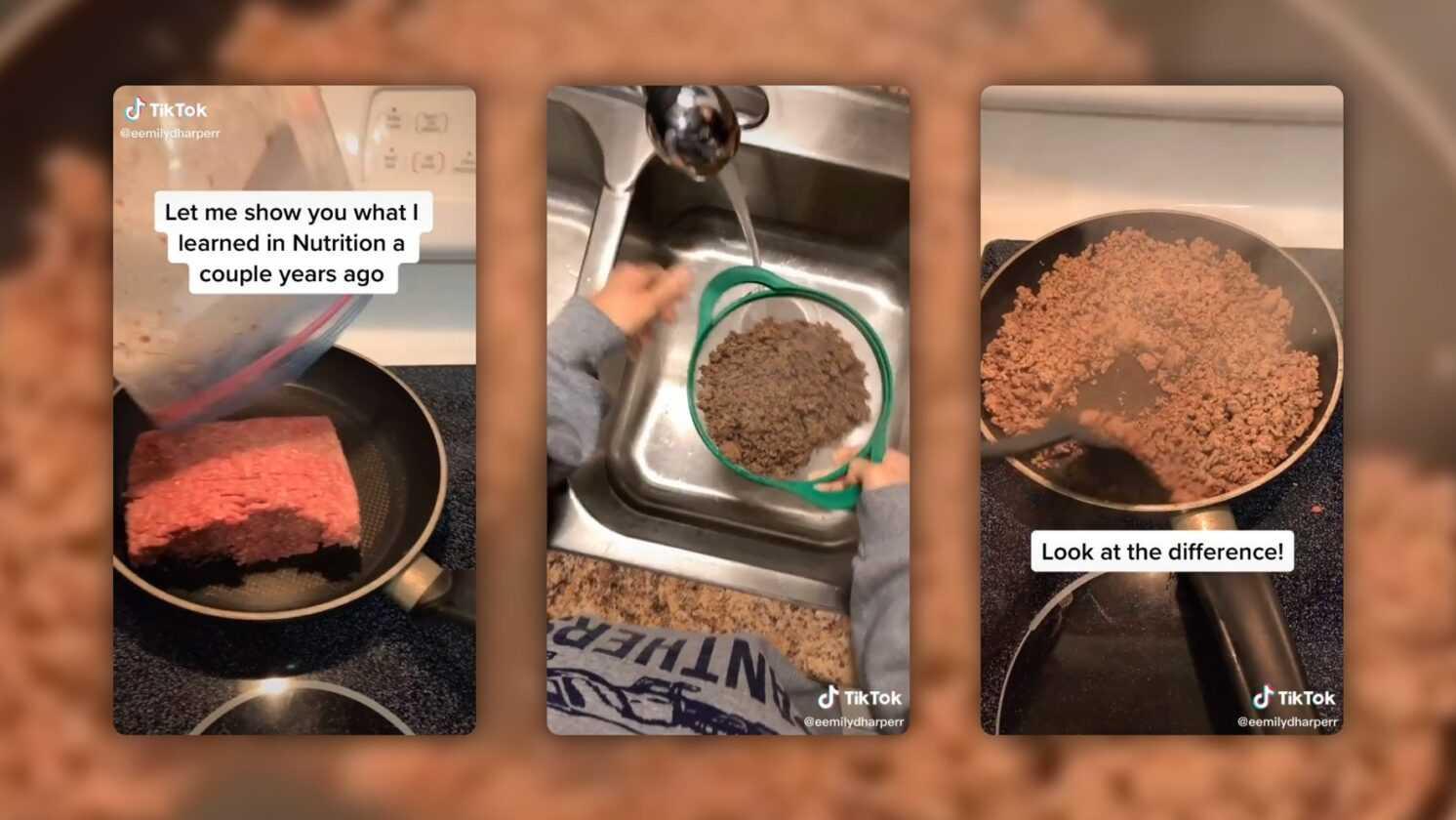 Rincer La Viande Hachée Après La Cuisson: La Recette Scandalise