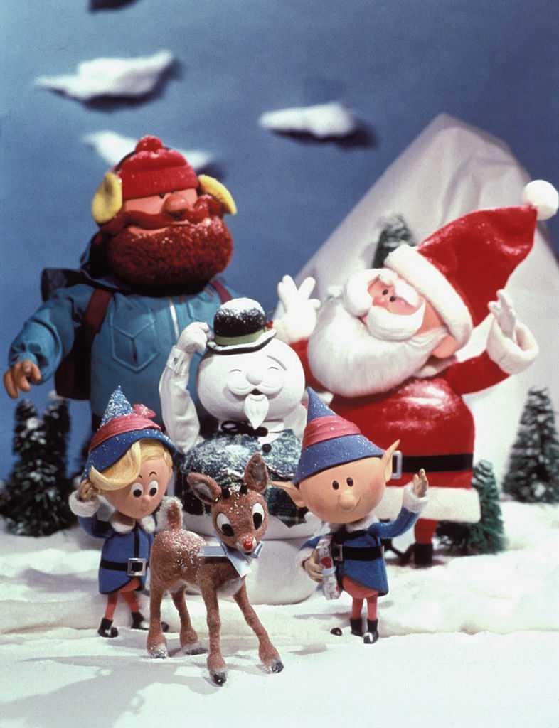 1961 personnages de films de Noël Rudolph le renne au nez rouge