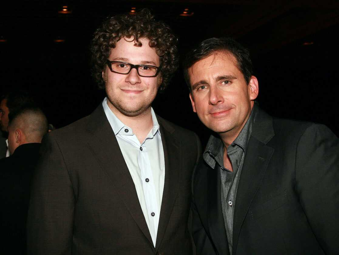 Seth Rogen and Steve Carrell