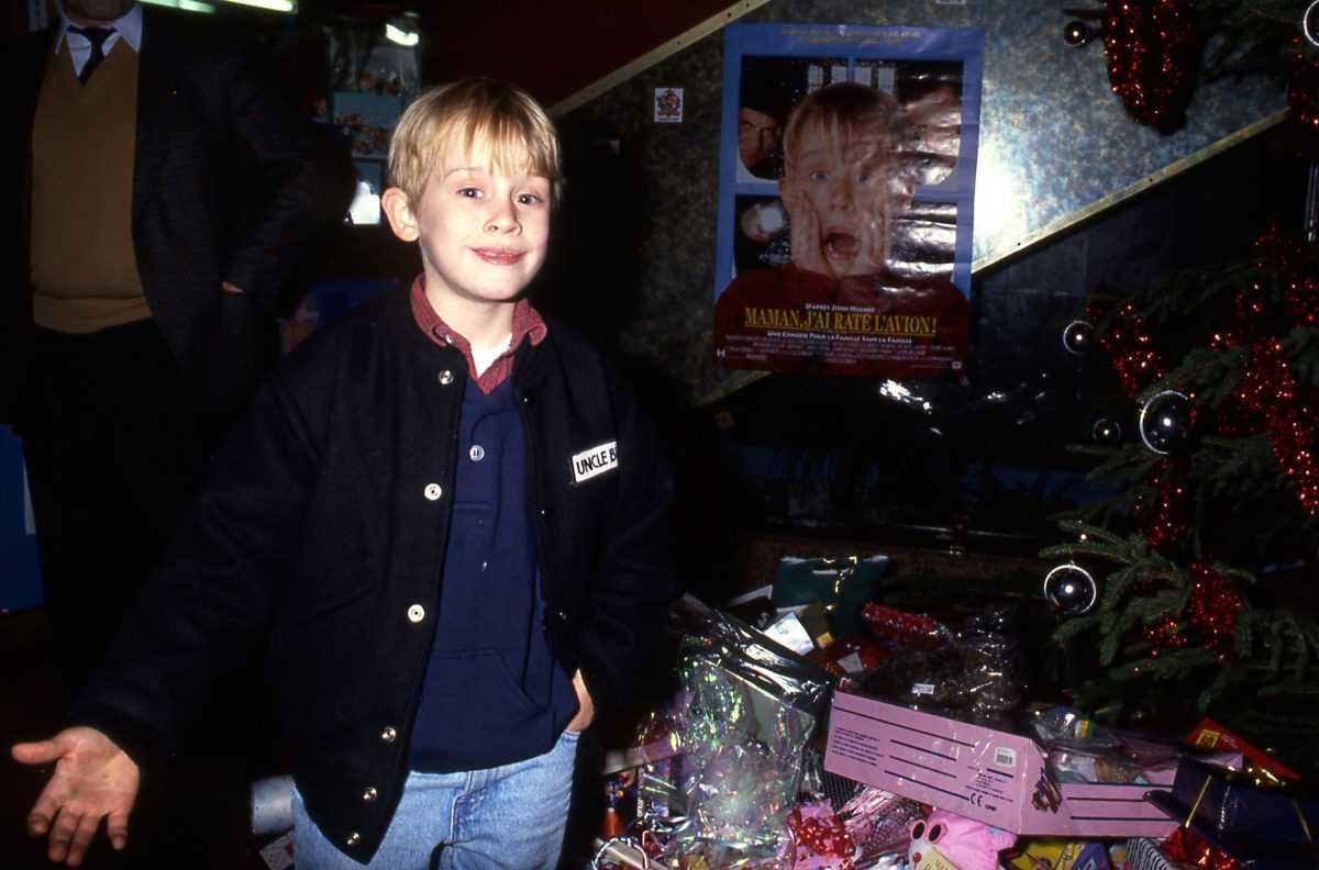 Macaulay Culkin à Paris, France le 11 décembre 1990
