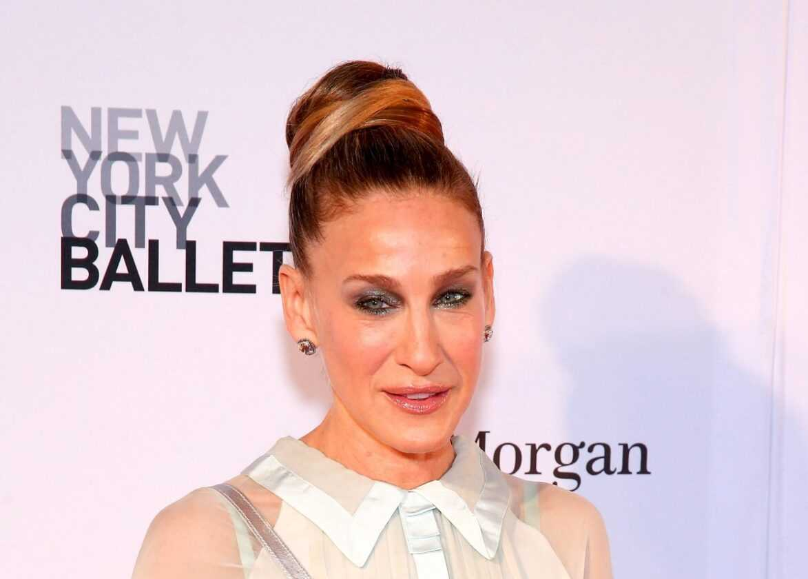 Sarah Jessica Parker attends the 2018 New York City Ballet Spring Gala at David H. Koch Theater,