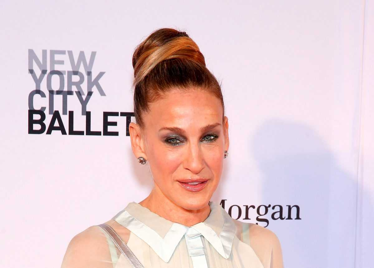 Sarah Jessica Parker assiste au Gala du printemps 2018 du New York City Ballet au David H.Koch Theatre,