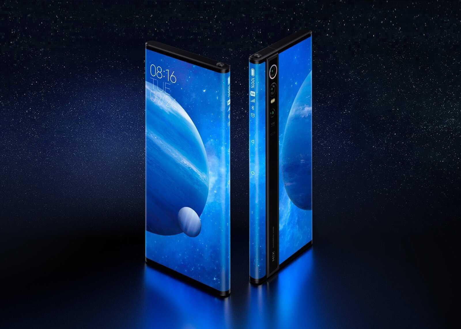 Xiaomi Mi MIX Alpha en vedette