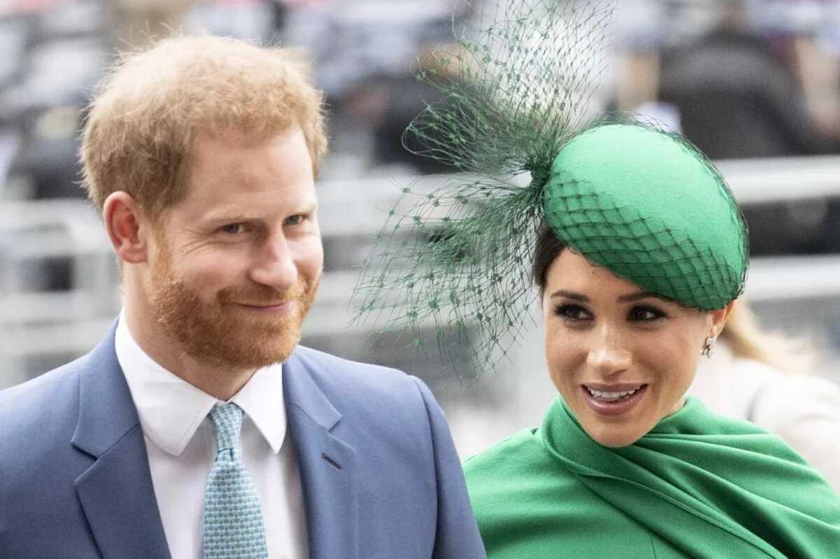 Le prince Harry et sa femme médiatique, Meghan Markle