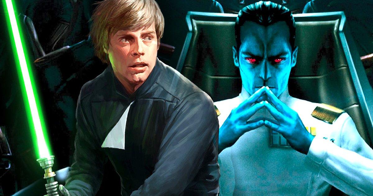 Star Wars Prépare T Il Thrawn Pour Un Héritier De L'adaptation En