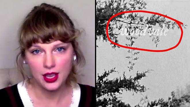 Taylor Swift explique ce que signifie Woodvale sur la couverture de l'album Folklore