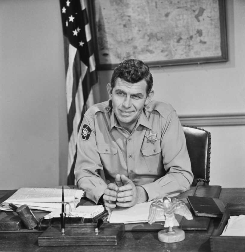 Andy Griffith as Sheriff Andy Taylor