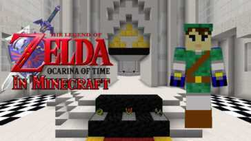 The Legend Of Zelda: Ocarina Of Time In Minecraft