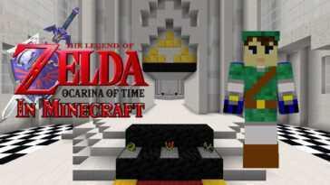 The Legend Of Zelda: Ocarina Of Time In Minecraft