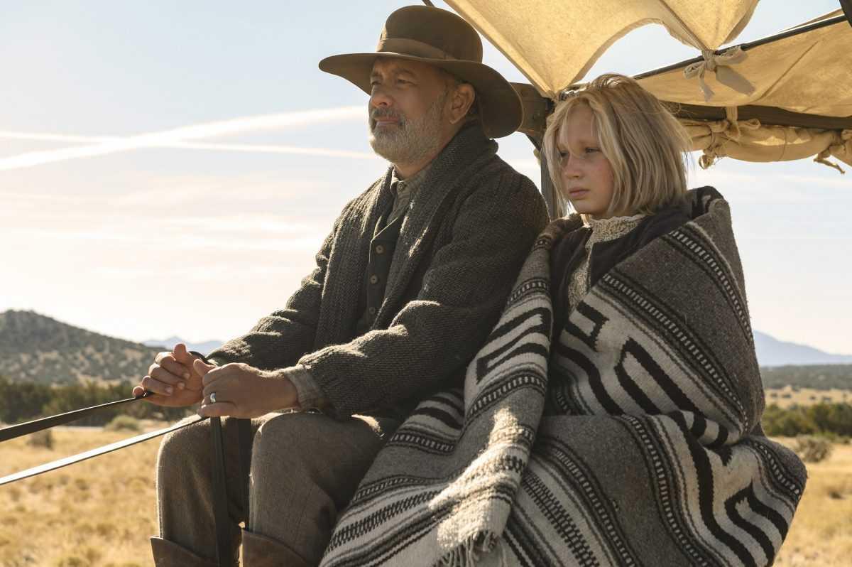 Tom Hanks et Helena Zengel