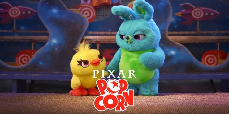 Popcorn Pixar