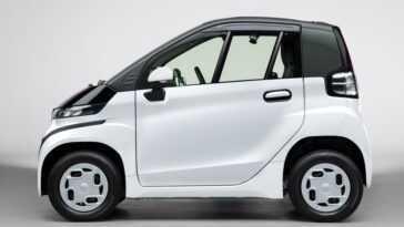 Toyota présente le C + Pod, sa proposition de voiture électrique biplace pour les services dans les grandes villes