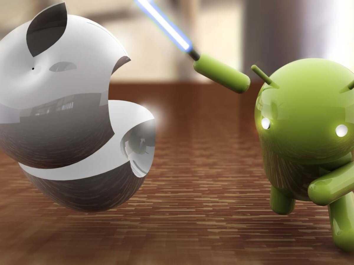 Android aux prises avec Apple