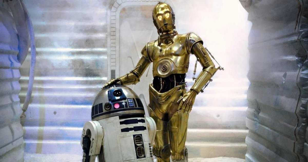 Une Histoire De Droïde Donne à C 3po Et R2 D2 Leur