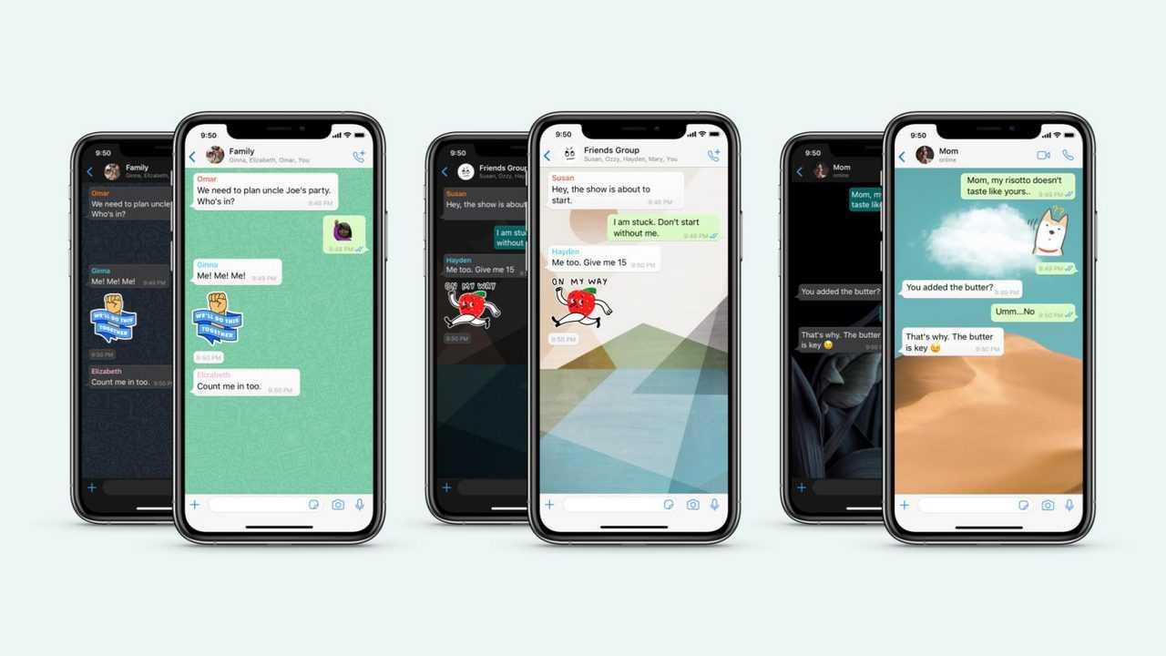 WhatsApp présente de nouveaux fonds d'écran personnalisés, doodle, packs d'autocollants et plus