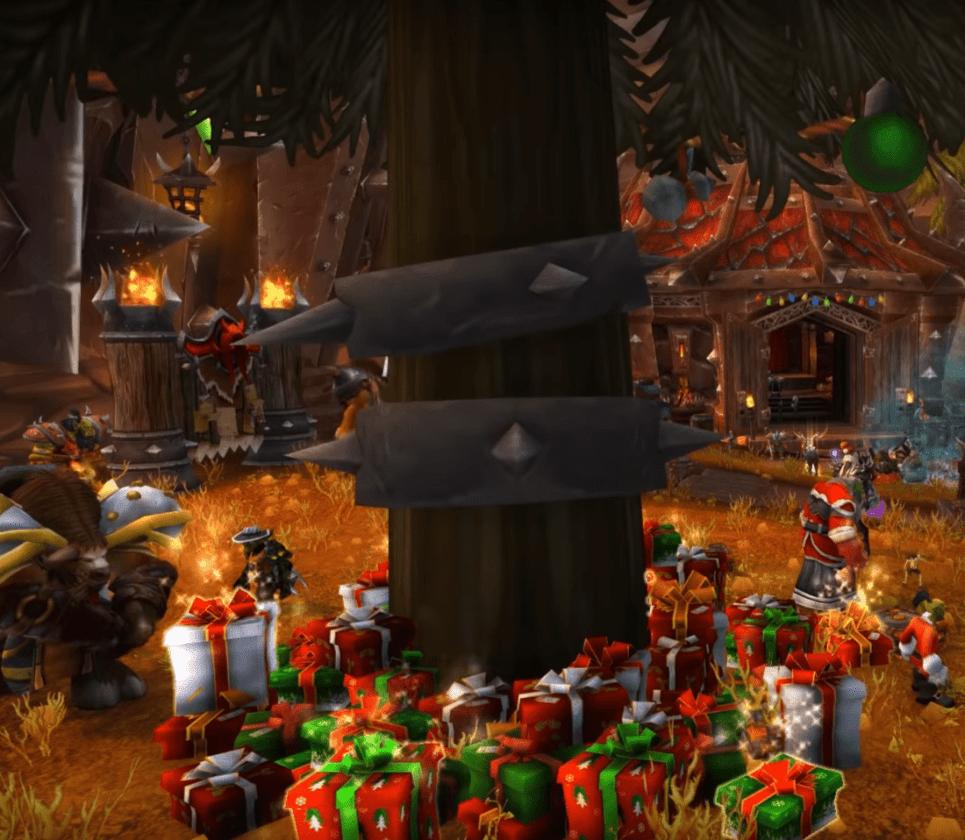 World Of Warcraft Begins 2020's Winter Veil Holiday Event