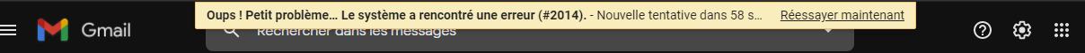 Gmail Ne Fonctionne Plus